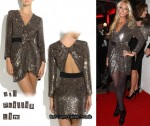 In Petra Ecclestone's Closet - 3.1 Phillip Lim Sequined Silk Wrap Dress