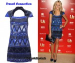 In Stephanie Pratt's Closet - French Connection Blue Sequin Dress