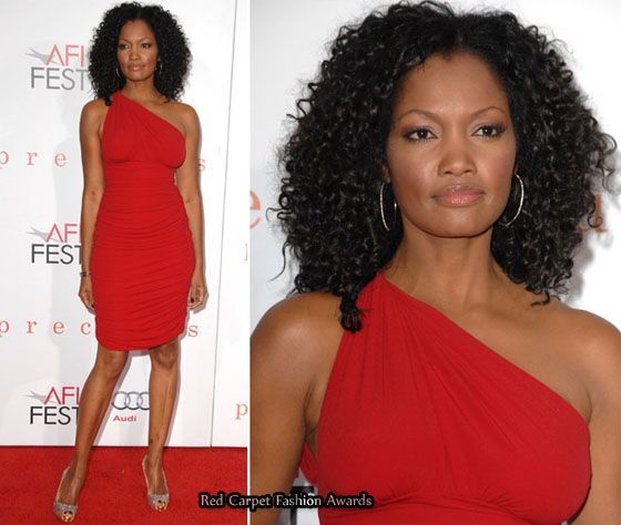 Nude make-up and accessories complete this look. Garcelle Beauvais looks ...