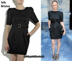 In Stella McCartney's Closet - Stella McCartney V-Back Jacquard Dress