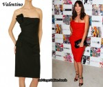 In Tamara Mellon's Closet - Valentino Strapless Bow Dress