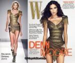 Demi Moore For W December 2009