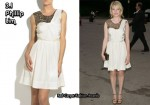 In Michelle Williams' Closet - 3.1 Phillip Lim Sequined Silk Dress