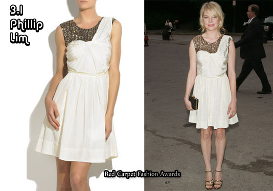 In Michelle Williams Closet 3 1 Phillip Lim Sequined Silk Dress