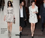 Runway To The Street Of Paris - Victoria Beckham In Burberry Prorsum & Antonio Berardi