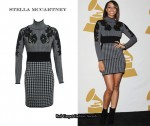 In Keri Hilson's Closet - Stella McCartney Houndstooth Knit Dress
