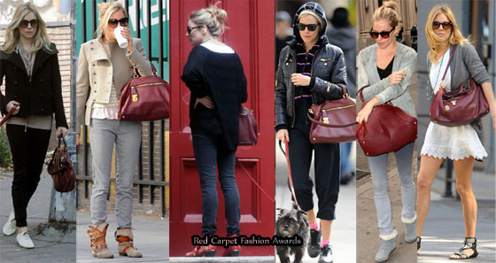 Needs An Intervention In 2010 - Sienna Miller And Her Prada Tote ...