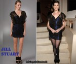In Anne Hathaway's Closet - Jill Stuart Feeney Dress