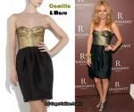 In Becki Newton's Closet - Camilla & Marc Cinder Corset Dress