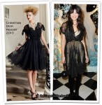 Runway To Unveiling of the Claridge's Christmas Tree - Daisy Lowe In Christian Dior