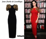 In Dita von Teese's Closet - Jean-Charles de Castelbajac Leopard Head Maxi Dress