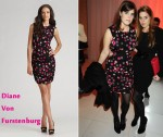 In Princess Eugenie's Closet - Diane von Furstenberg Tulipan Dotted Silk Dress