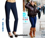 In Mariah Carey's Closet - J Brand Denim Legging