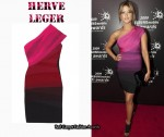In Holly Valance's Closet - Herve Leger Dégradé Bandage Dress