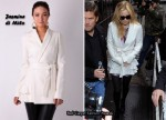 In Kate Hudson's Closet - Jasmine di Milo White Wrap Jacket