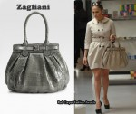 In Jennifer Lopez' Closet - Zagliani Crocodile Puffy Satchel