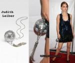 In Natalie Portman's Closet - Judith Leiber Discoball Sphere Clutch