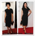 Who Wore Lanvin Better? Audrey Tautou or Lucy Liu