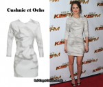 In Leighton Meester's Closet - Cushnie Et Ochs Marble Print Dress