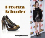 In Leighton Meester's Closet - Proenza Schouler Patent Leather Platform Pumps