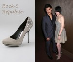 In Kristen Stewart's Closet - Rock & Republic Nika Stud Platforms
