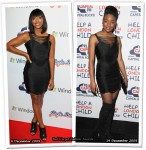 Who Wore Lipsy Better? Alexandra Burke or Rachel Adedeji