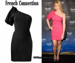 In Lauren Bosworth's Closet - French Connection One-Shoulder Dress