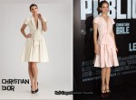 In Marion Cotillard's Closet - Christian Dior Dress