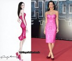 Emporio Armani Dress Inspired By Megan Fox