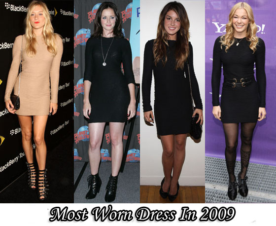 Most Worn Dress Of 2009 Kimberly Ovitz Jacob Long Sleeve