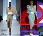Runway To 'Friday Night with Jonathan Ross' - Rihanna In Alexandre Vauthier Couture