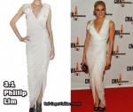 In LeAnn Rimes' Closet - 3.1 Phillip Lim Asymmetrical Gathered Dress