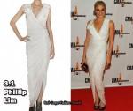 In LeAnn Rimes' Closet - 3.1 Phillip Lim Asymmetrical Gathered Dress