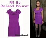 In Heidi Klum's Closet - RM By Roland Mouret Amitola Dress