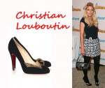 In Paris Hilton's Closet - Love 100 Christian Louboutin Suede Pumps