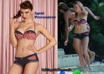 In Sienna Miller's Closet - Agent Provocateur Denim Bikini