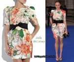 In Stella McCartney's Closet - Stella McCartney Floral Print Dress