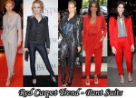 Red Carpet Trend Of 2009 - Pant Suits