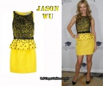 In Leslie Mann's Closet - Jason Wu Bow Peplum Dress
