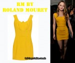 In Devon Aoki's Closet - RM By Roland Mouret Osu Dress