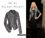 In Rachel Zoe's Closet - RM By Roland Mouret Zephyr Silk Brocade Jacket