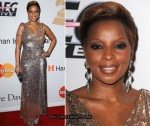 "Grammy Awards ""Salute To Icons Honoring Doug Morris"" Clive Davis Event - Mary J Blige In Alberto Makali"