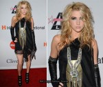 "Grammy Awards ""Salute To Icons Honoring Doug Morris"" Clive Davis Event - Ke$ha"