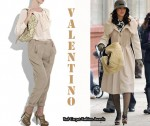In Leighton Meester's Closet - Valentino 360 Embroidered Shoulder Bag