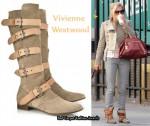 In Sienna Miller's Closet - Vivienne Westwood Suede Pirate Boots