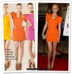 "Runway To ""The Spy Next Door"" LA Premiere - Amber Valletta In RM by Roland Mouret"