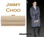 In Anna Kendrick's Closet - Jimmy Choo Tube Clutch