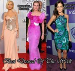 Best Dressed Of The Week - Christina Aguilera In Versace, Diane Kruger In Christian Lacroix & Camilla Belle In Giorgio Armani