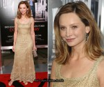 """Extraordinary Measures"" LA Premiere - Calista Flockhart In Vintage From Decades"