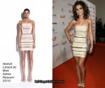 "Runway To ""DLD Starnight 2010"" - Cheryl Cole In Hervé Léger by Max Azria"